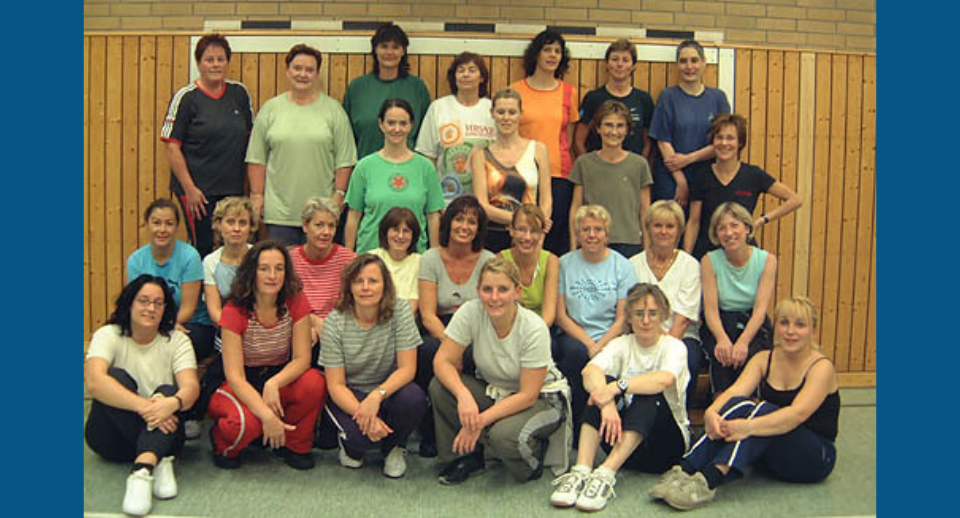 Aerobic/Fitness-Gruppe